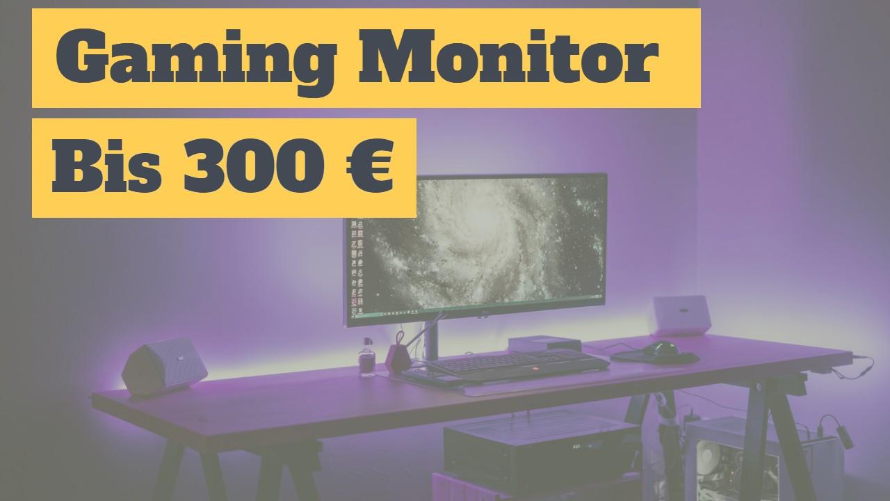 Gaming Monitor bis 300 Euro